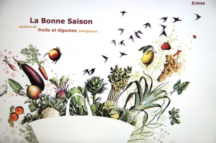 Fruits et legumes bio a marseille La bonne saison