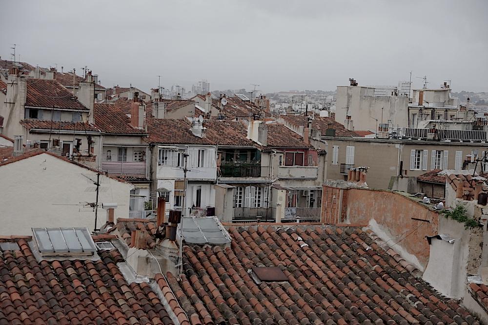 Rue Lodi Toits de Marseille